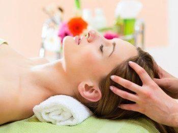 Massage indien de la tête et du dos de 45 mn